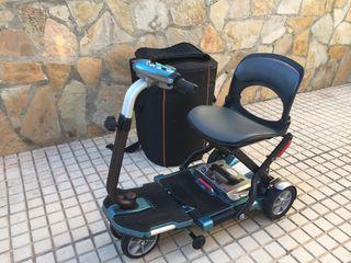 Scooter silla de ruedas minusválido.