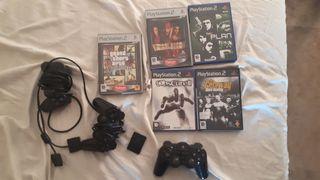5 Juegos y mandos de PS2