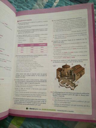Libro geografía e historia 2 eso.Historia medieval