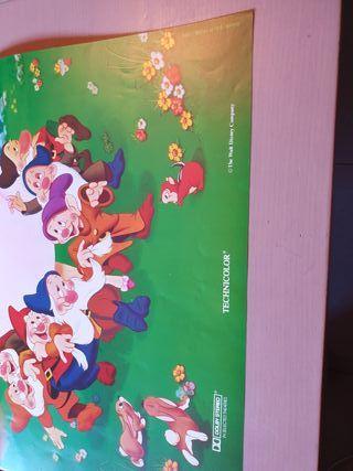 Poster de blancanieves y los 7 enanitos