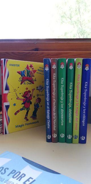 colección libros kika superbruja