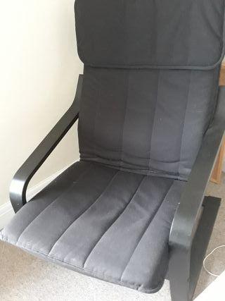 Black-Brown armchair