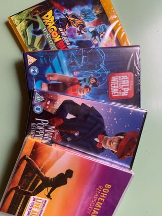 DVDs & Blu-rays (new & unopened)