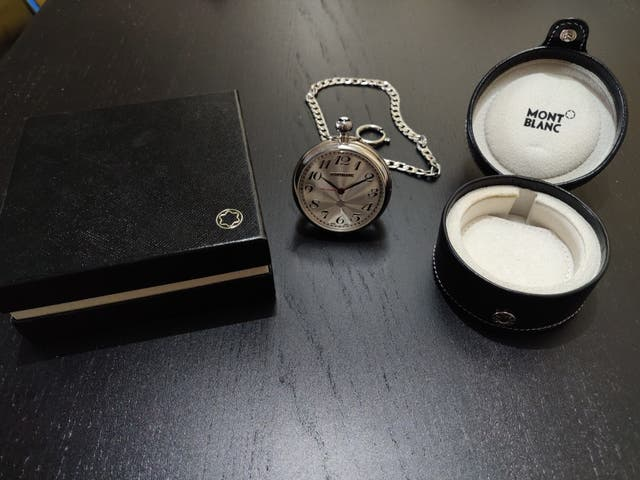 Reloj de bolsillo Mont Blanc