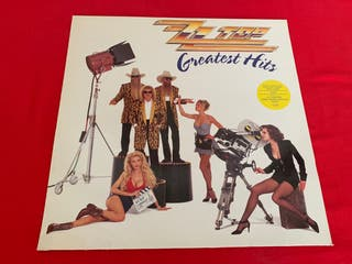 ZZ TOP GREATEST HITS Disco vinilo LP original 1992