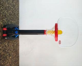 Canasta baloncesto plegable telescópica