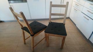 Ikea Sillas Wallapop Segunda De Tres Cantos Mano En kZTliuwOPX