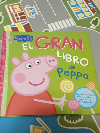 3 libros Peppa Pig (1 nuevo)