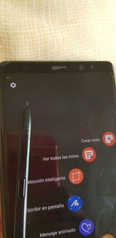 vendo Samsung Galaxy note 8