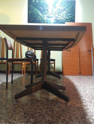 mesa de comedor grande con 8 sillas