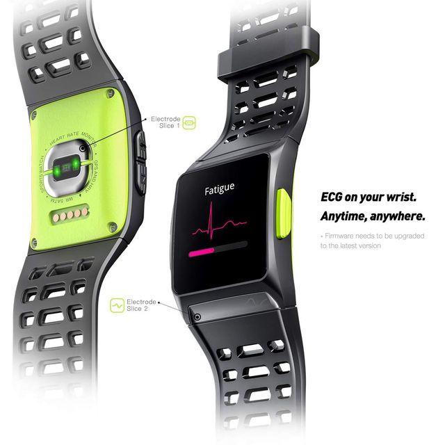 LUKAWIT Fitness Tracker GPS Reloj