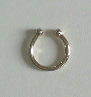 2cf88d96b498 Pendientes aro de plata de segunda mano en la provincia de Vizcaya ...