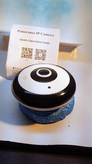 cámara escondida en un detector de humos