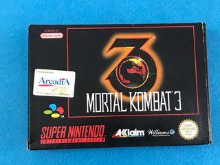 Mortal kombat 3 súper nes