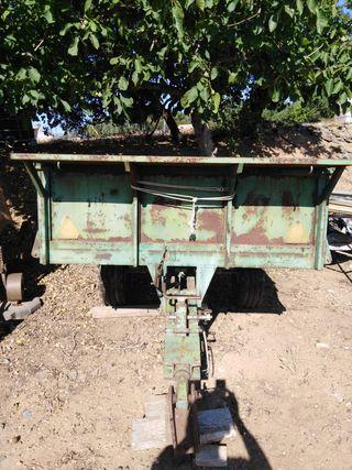 remolque de tractor