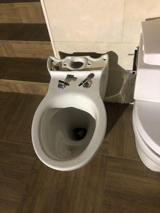 WC y BIDÉ en perfecto estado. 2X1 a 20€