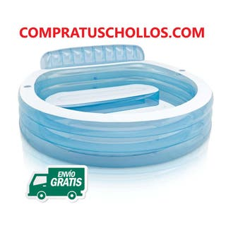 Intex Piscina inflable Family 224x216x76 cm