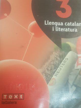 llengua catalana y literatura 3 eso