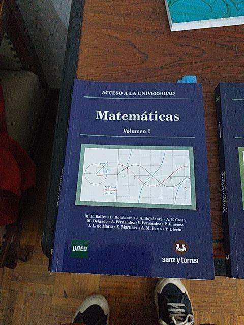 matemáticas para prueba de acceso a la universidad
