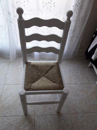 silla rustica