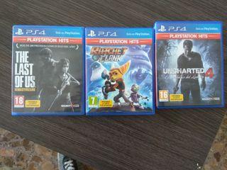 tres juegos