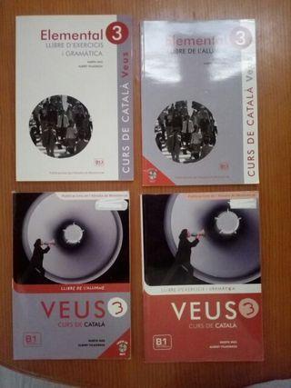 Libros de catalán de B1
