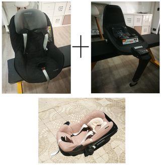 Sillas coche Bebe Confort 0 a 18,5 kg +base ISOFIX