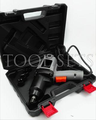 Pistola de impacto eléctrica (325 Nm).