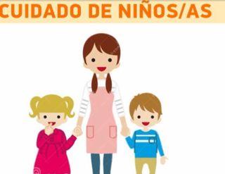 Cuidadora de niñ@s pequeños
