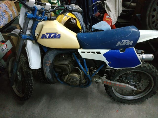 ktm cross 250cc