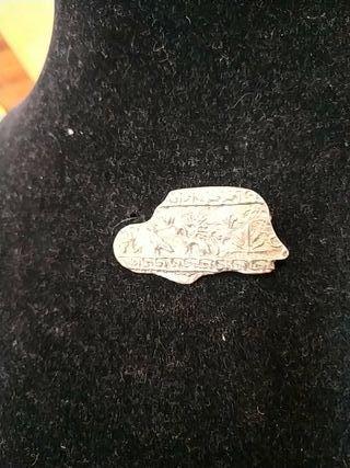 broche de plata antiguo