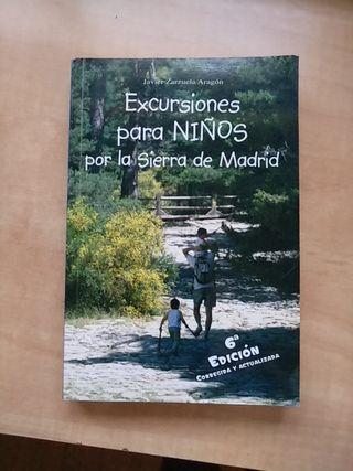 Libro excursiones para niños por la sierra de Madr