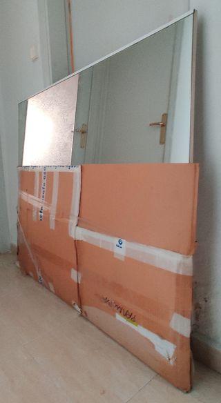 Espejo grande 1,20x1,08m y 1,5cm de grueso