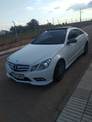 Mercedes-Benz clase e350 coupe amg 2011