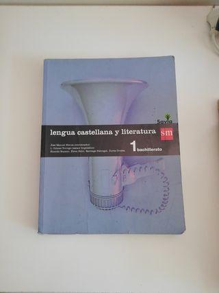 libro de lengua castellana y literatura 1° bach
