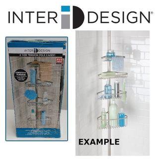 interdesign 4 tier tension pole caddy