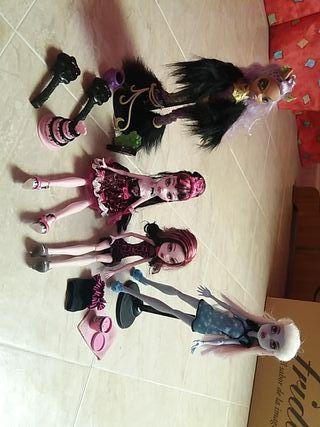 Monster High muñecas