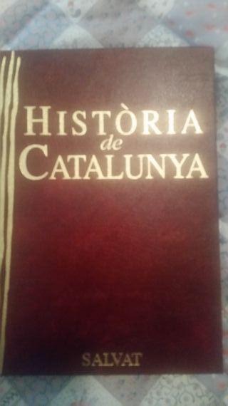 Libros historia de Catalunya. 12 tomos