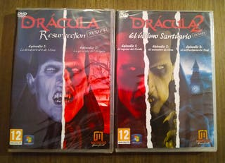 Drácula 1 y 2 series para PC. ¡¡¡PRECINTADOS!!!