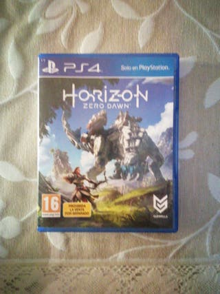 Horizon zero dawn juego ps4