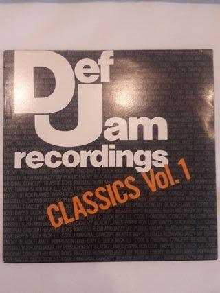 Def Jam Recordings - Classics Vol 1 LP
