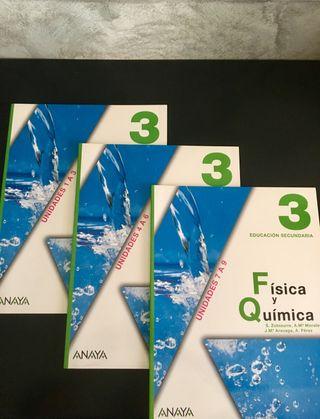 Libros Física y Química 3º de E.S.O (Anaya)
