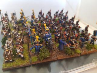 Napoleonicos 15mm pintados