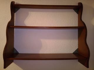 Estantería 3 estantes de Madera 83,5x20x75 cm