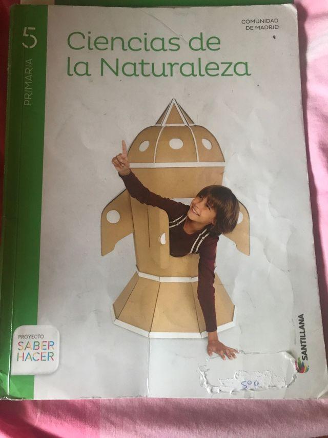 Libro Ciencias de la naturaleza 5 primaria