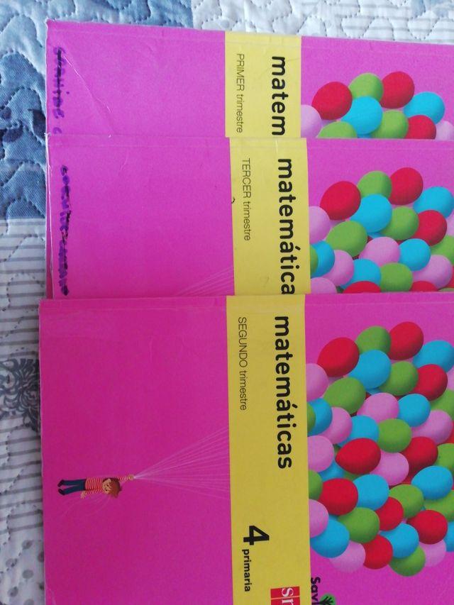 Libros matemáticas cuarto de primaria SM de segunda mano por 17 € en ...