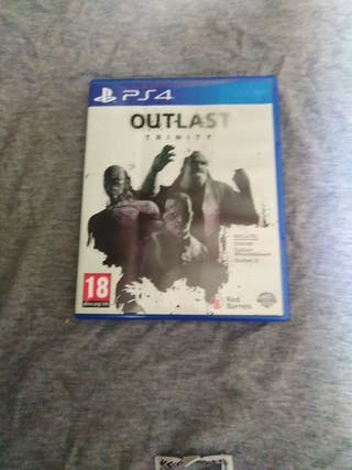 OUTLAST TRINITY 1 Y 2, PS4