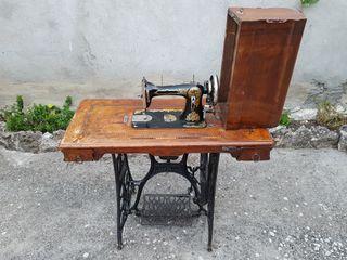 maquina antigua coser singer