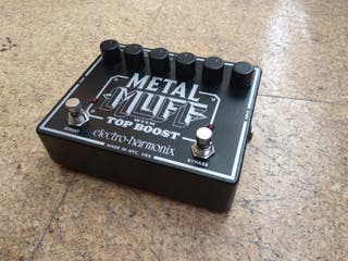 Pedal guitarra MetalMuff Top Boost