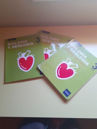 Libros Biologia 3°ESO